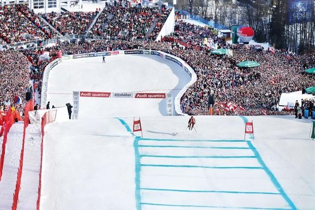 Kitzbühel Legendarische sportstad in Tirol