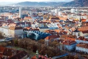 Graz in Oostenrijk