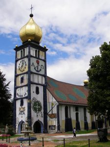 Hundertwasser kirche Bärnbach