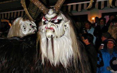 Krampus de enge hulpjes van Sint Nikolaus