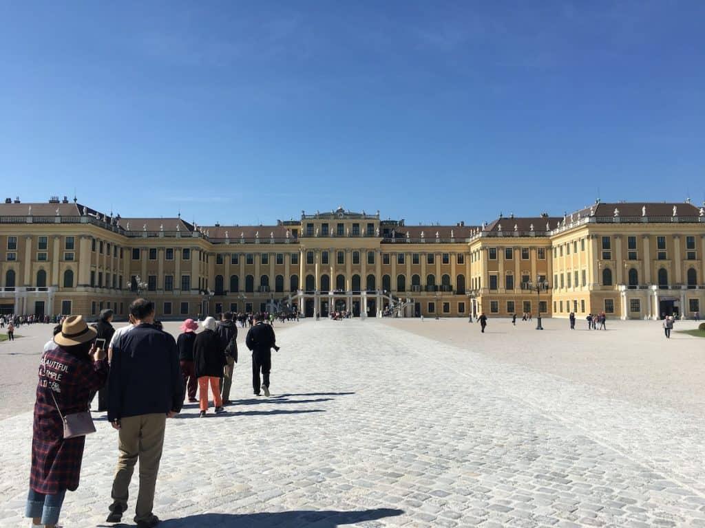 Schloss Schonbrunn met kinderen