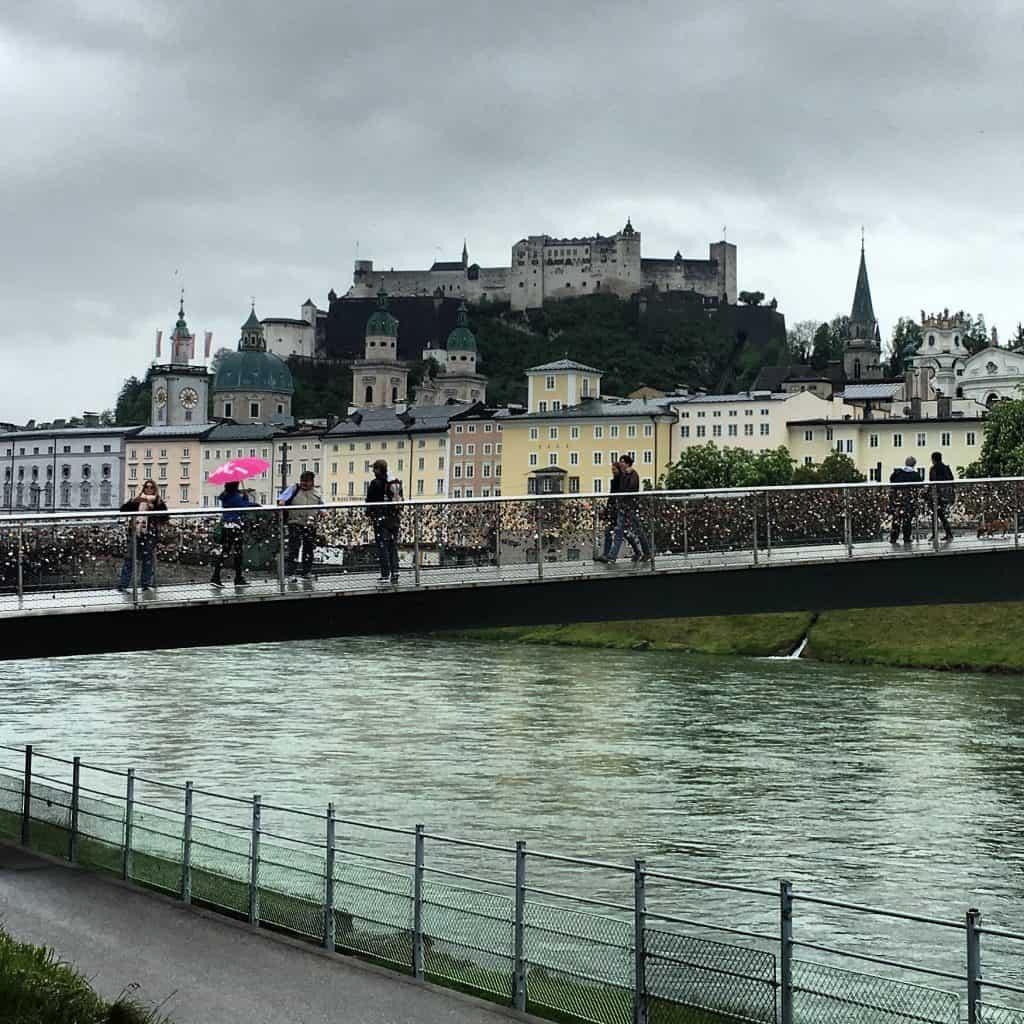 klimaat in Salzburg