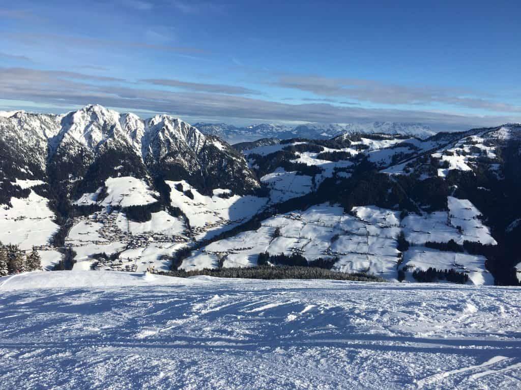 Skigebied Alpbachtal in Tirol