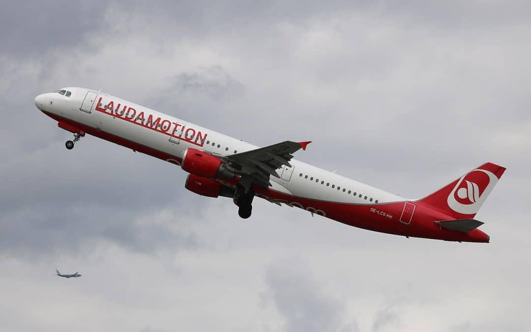 Laudamotion vanaf Eindhoven naar Wenen
