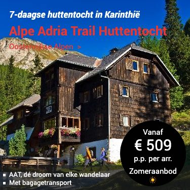 Boek een huttentocht in Oostenrijk