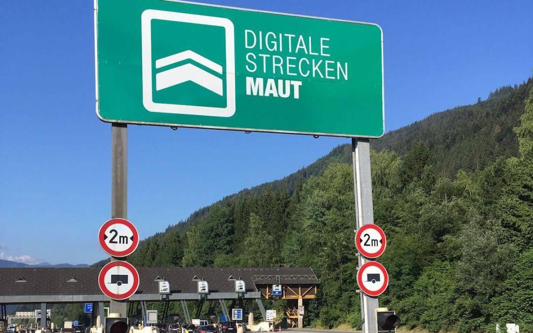 Pas goed op bij de digitale maut/tol poortjes