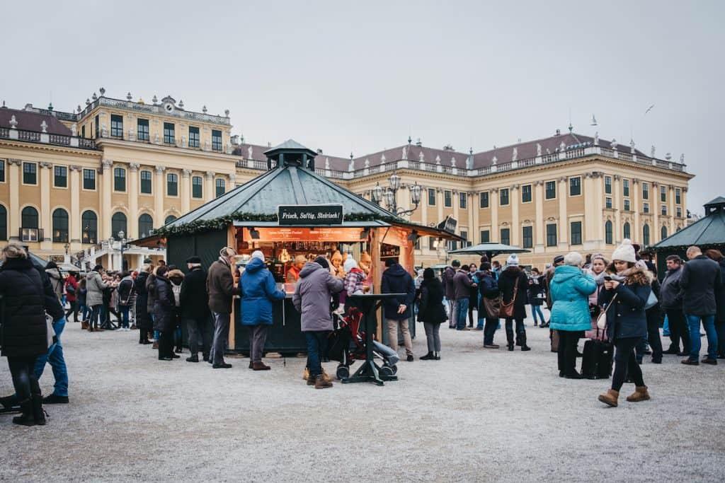 Kerstmarkt Schonbrunn