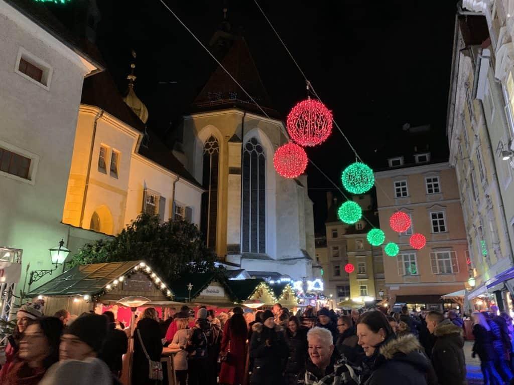 Kerstmarkten in Graz