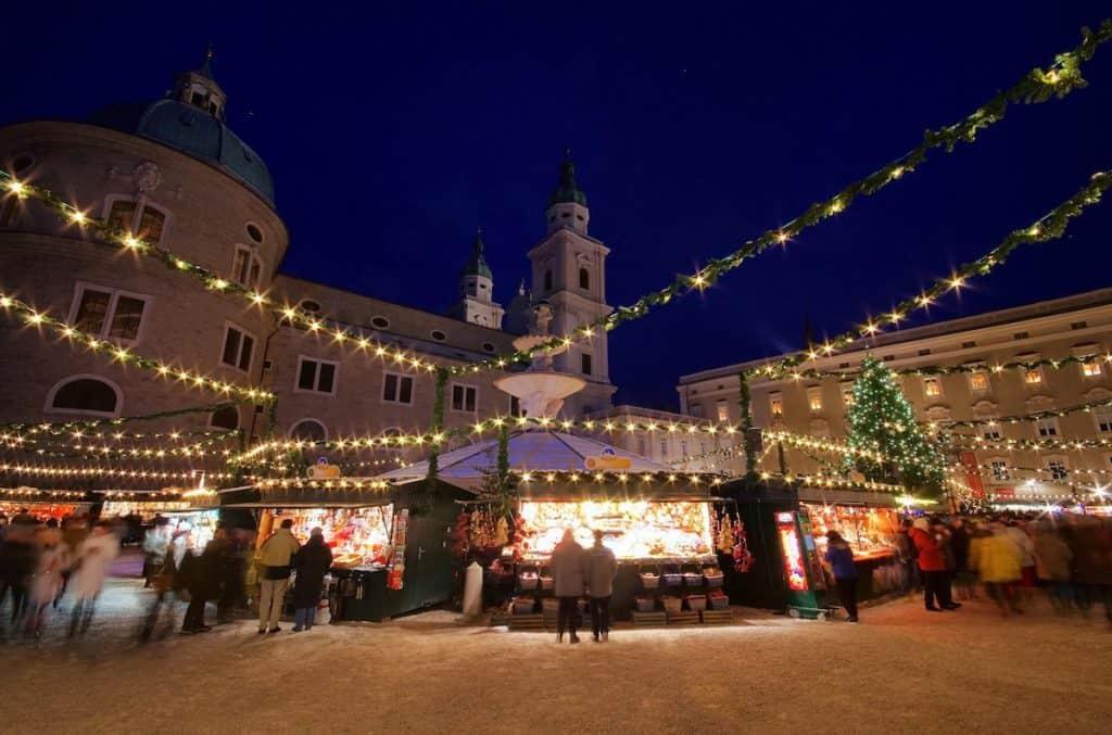 Kerstmarkten in Salzburg