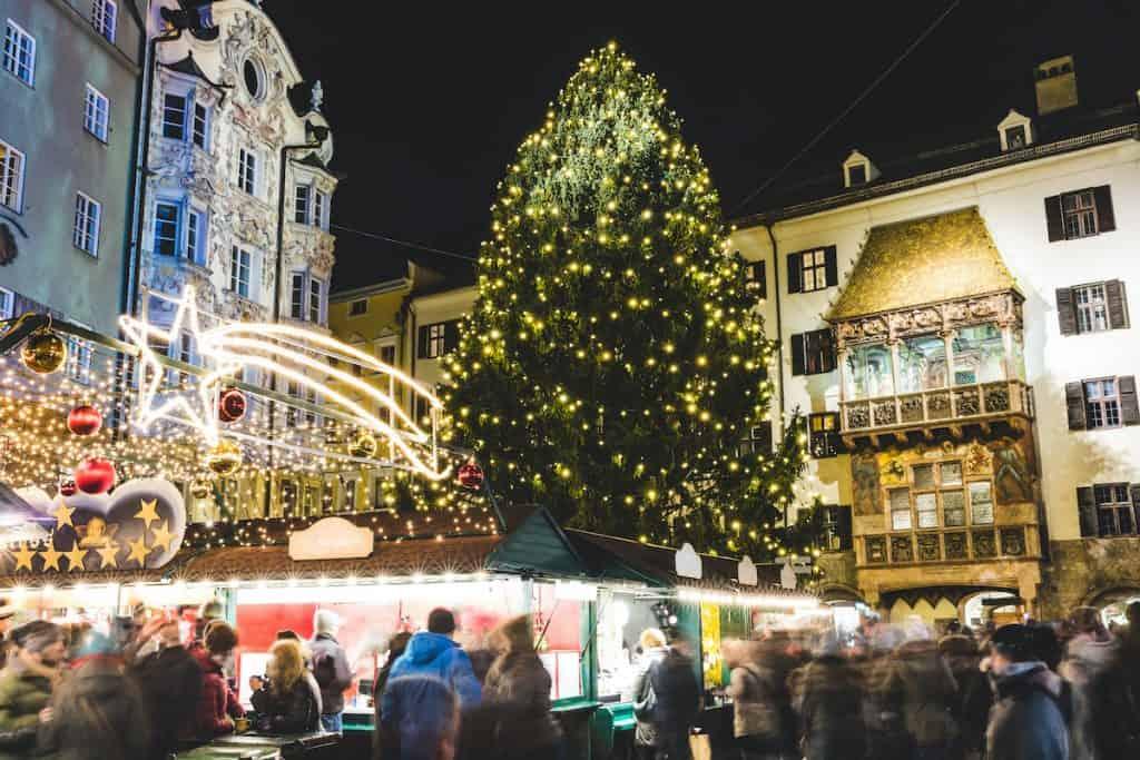 Kerstmarkten in Innsbruck