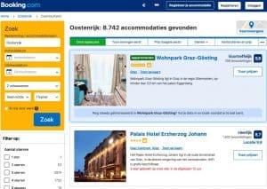 hotels boeken in Oostenrijk